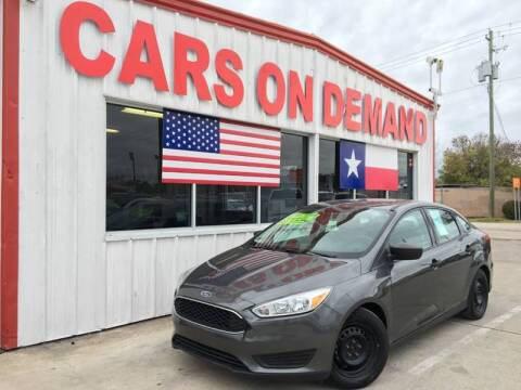 2016 Ford Focus for sale at Cars On Demand 3 in Pasadena TX
