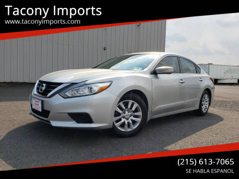 2016 Nissan Altima for sale at Tacony Imports in Philadelphia PA