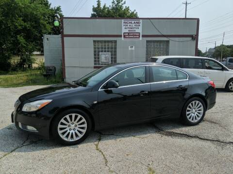2011 Buick Regal for sale at Richland Motors in Cleveland OH