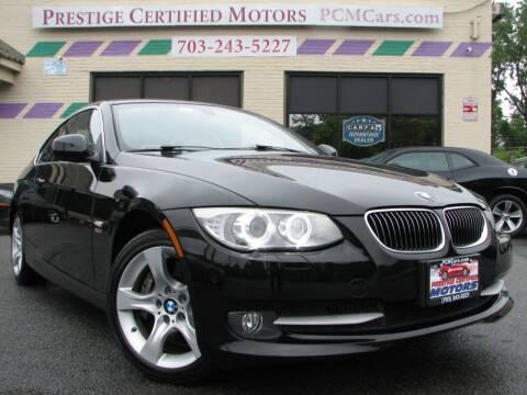 2012 BMW 3 Series for sale at Prestige Certified Motors in Falls Church VA
