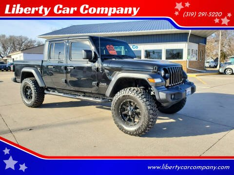 2020 Jeep Gladiator for sale at Liberty Car Company in Waterloo IA
