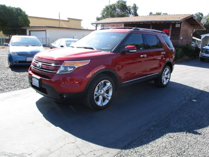 2015 Ford Explorer for sale at Manzanita Car Sales in Gridley CA