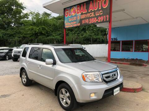 2009 Honda Pilot for sale at Global Auto Sales and Service in Nashville TN