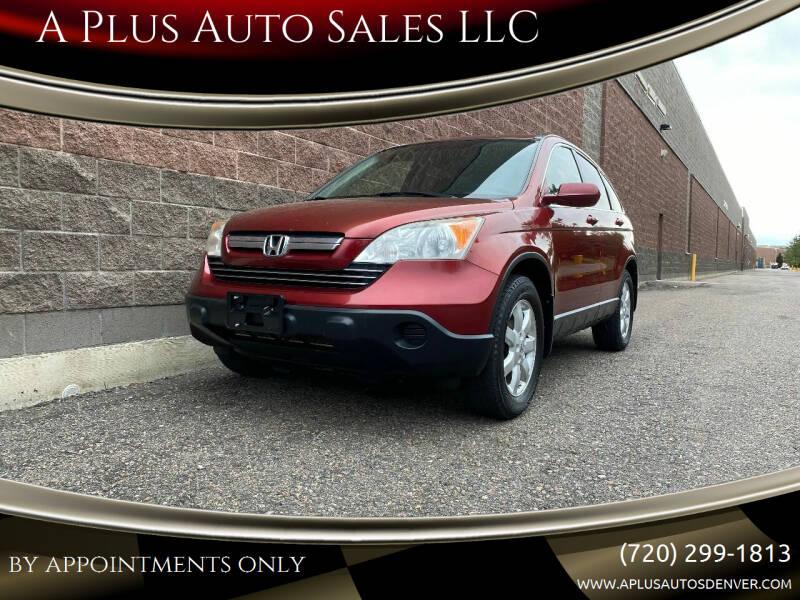 2008 Honda CR-V for sale at A Plus Auto Sales LLC in Denver CO