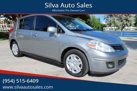 2012 Nissan Versa for sale at Silva Auto Sales in Pompano Beach FL
