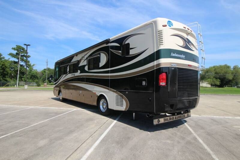 2008 Holiday Rambler AMBASSADOR 40DFT for sale at Texas Best RV in Humble TX