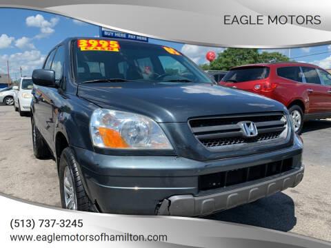 2005 Honda Pilot for sale at Eagle Motors in Hamilton OH