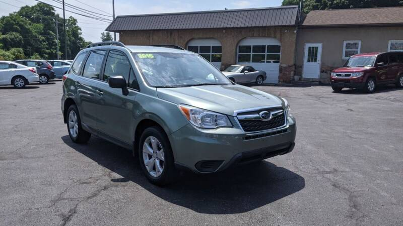 2015 Subaru Forester for sale at Worley Motors in Enola PA