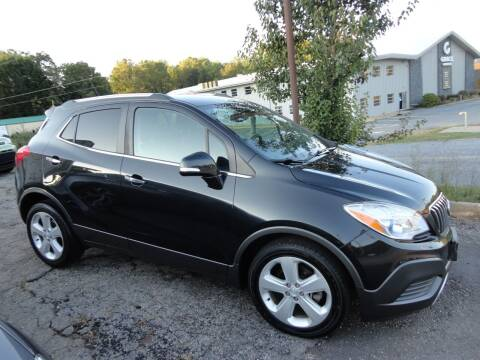 2015 Buick Encore for sale at HAPPY TRAILS AUTO SALES LLC in Taylors SC