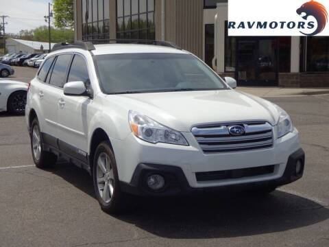 2013 Subaru Outback for sale at RAVMOTORS 2 in Crystal MN