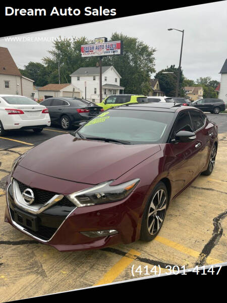 2018 Nissan Maxima for sale at Dream Auto Sales in South Milwaukee WI
