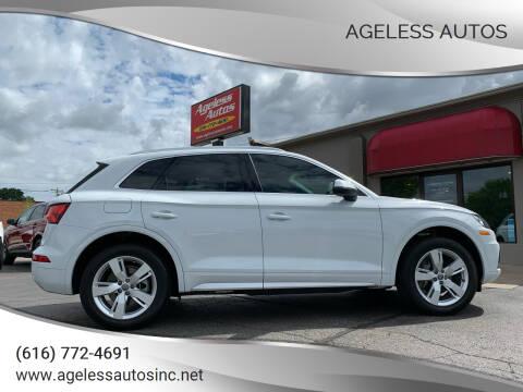 2018 Audi Q5 for sale at Ageless Autos in Zeeland MI