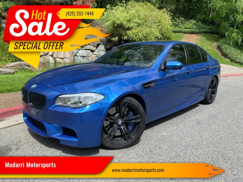 2013 BMW M5 for sale at Mudarri Motorsports in Kirkland WA