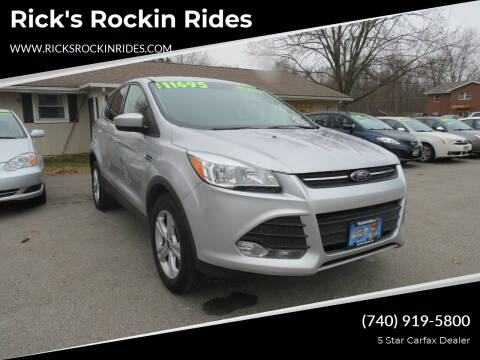 2016 Ford Escape for sale at Rick's Rockin Rides in Reynoldsburg OH