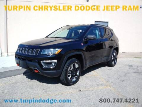 2018 Jeep Compass for sale at Turpin Dodge Chrysler Jeep Ram in Dubuque IA