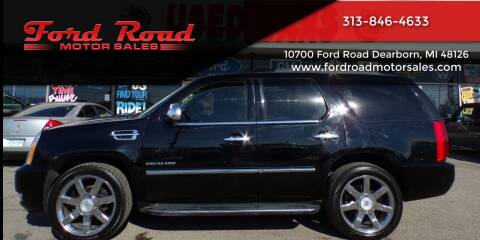 2011 Cadillac Escalade for sale at Ford Road Motor Sales in Dearborn MI