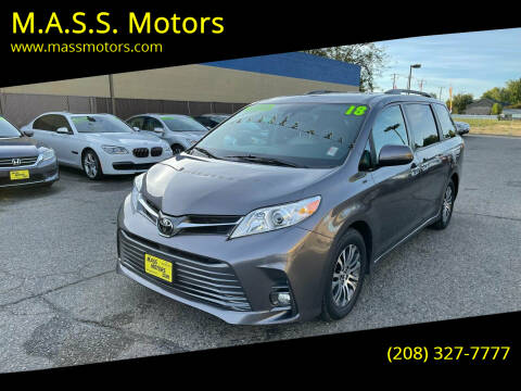 2018 Toyota Sienna for sale at M.A.S.S. Motors in Boise ID