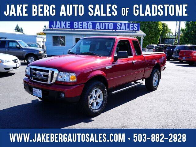 2006 Ford Ranger for sale at Jake Berg Auto Sales in Gladstone OR