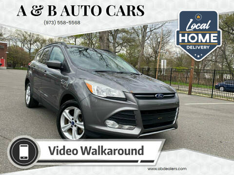 2014 Ford Escape for sale at A & B Auto Cars in Newark NJ