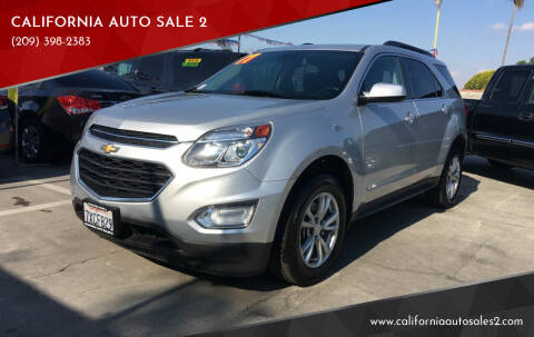 2017 Chevrolet Equinox for sale at CALIFORNIA AUTO SALE 2 in Livingston CA