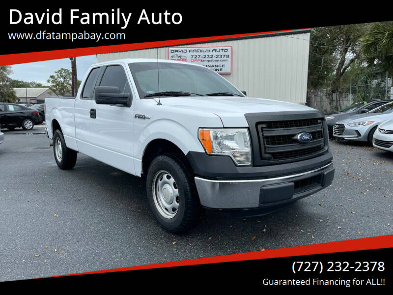 2014 Ford F-150 for sale at David Family Auto in New Port Richey FL