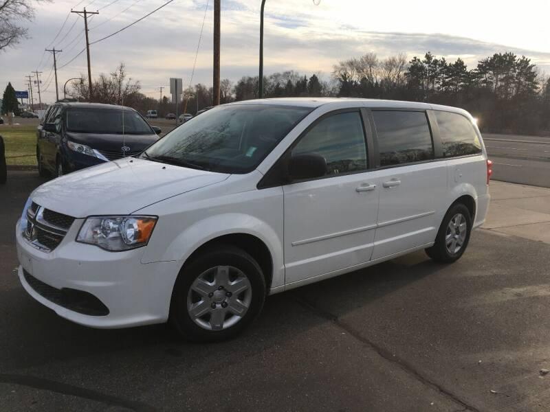 2012 Dodge Grand Caravan for sale at Premier Motors LLC in Crystal MN