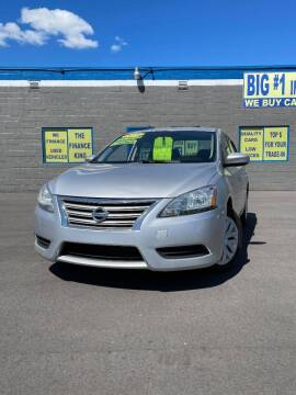 2015 Nissan Sentra for sale at BIG #1 INC in Brownstown MI