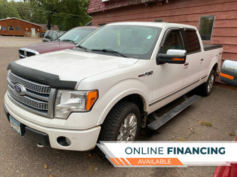 2010 Ford F-150 for sale at Sunrise Auto Sales in Stacy MN