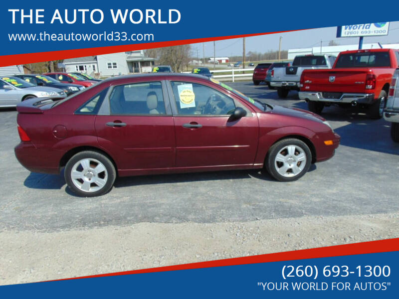 2007 Ford Focus for sale at THE AUTO WORLD in Churubusco IN