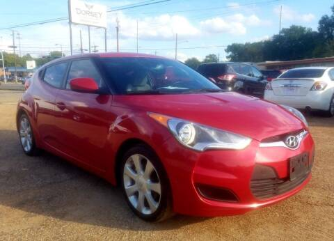 2012 Hyundai Veloster for sale at Dorsey Auto Sales in Tyler TX