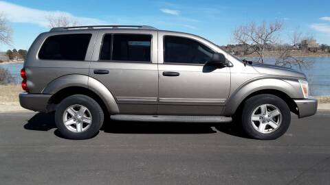 2005 Dodge Durango for sale at Macks Auto Sales LLC in Arvada CO