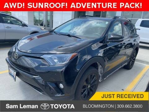 2018 Toyota RAV4 for sale at Sam Leman Toyota Bloomington in Bloomington IL