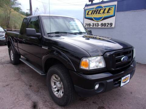 2011 Ford Ranger for sale at Circle Auto Center in Colorado Springs CO