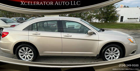 2013 Chrysler 200 for sale at Xcelerator Auto LLC in Indiana PA