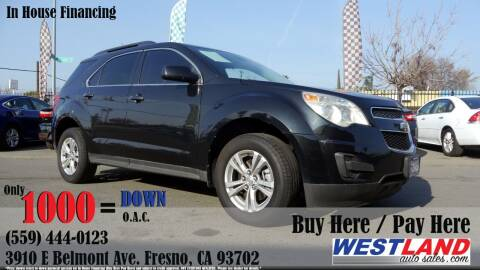 2012 Chevrolet Equinox for sale at Westland Auto Sales in Fresno CA
