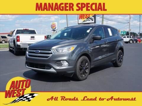 2017 Ford Escape for sale at Autowest Allegan in Allegan MI