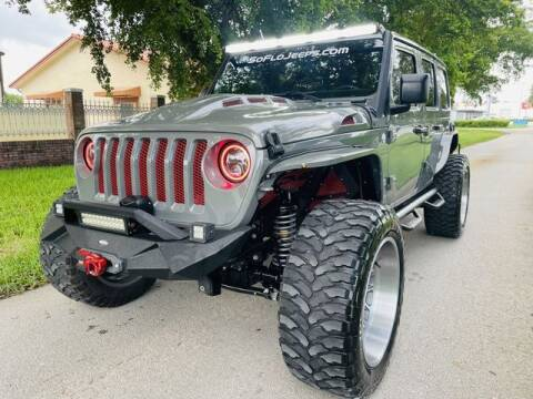 2019 Jeep Wrangler Unlimited for sale at Imperial Capital Cars Inc in Miramar FL