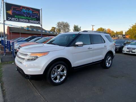 2014 Ford Explorer for sale at AWD Denver Automotive LLC in Englewood CO