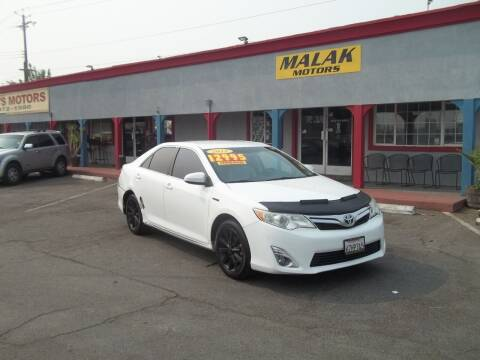 2012 Toyota Camry Hybrid for sale at Atayas Motors INC #1 in Sacramento CA