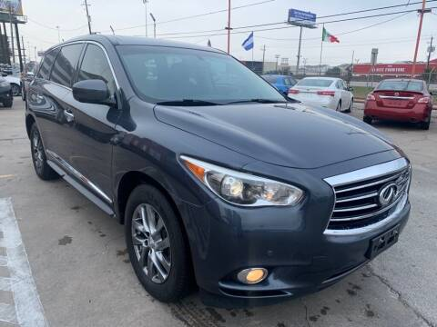 2013 Infiniti JX35 for sale at JAVY AUTO SALES in Houston TX