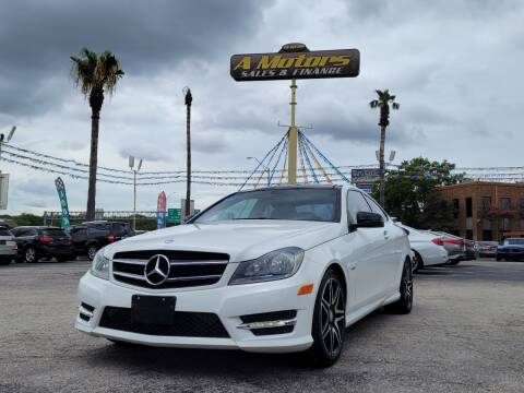 2014 Mercedes-Benz C-Class for sale at A MOTORS SALES AND FINANCE - 6226 San Pedro Lot in San Antonio TX