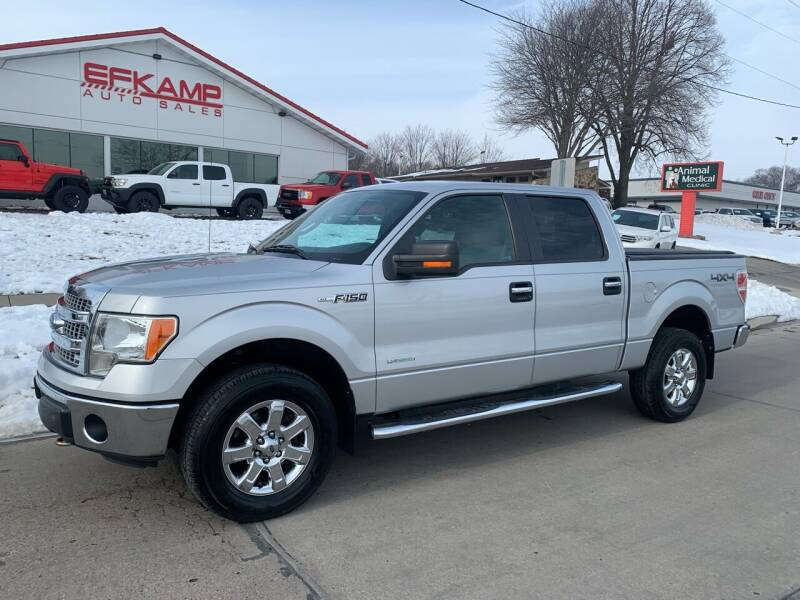 2013 Ford F-150 for sale at Efkamp Auto Sales LLC in Des Moines IA