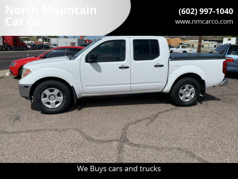 2006 Nissan Frontier for sale at North Mountain Car Co in Phoenix AZ