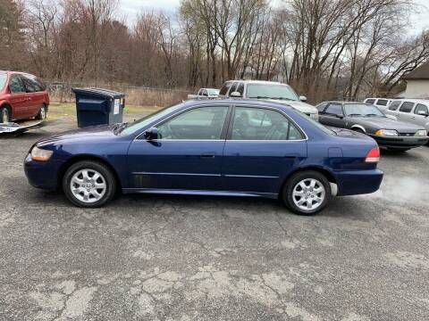 2002 Honda Accord for sale at Balfour Motors in Agawam MA
