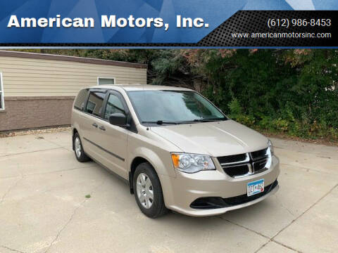 2013 Dodge Grand Caravan for sale at American Motors, Inc. in Farmington MN