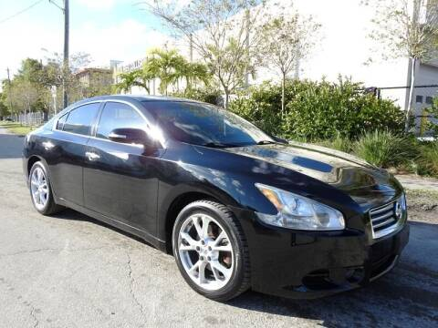 2014 Nissan Maxima for sale at SUPER DEAL MOTORS in Hollywood FL