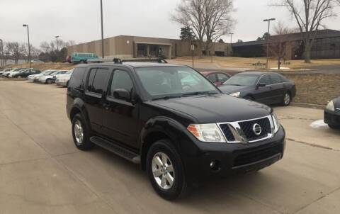 2012 Nissan Pathfinder for sale at QUEST MOTORS in Englewood CO
