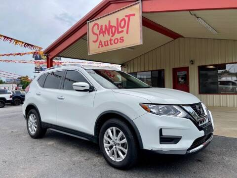 2018 Nissan Rogue for sale at Sandlot Autos in Tyler TX