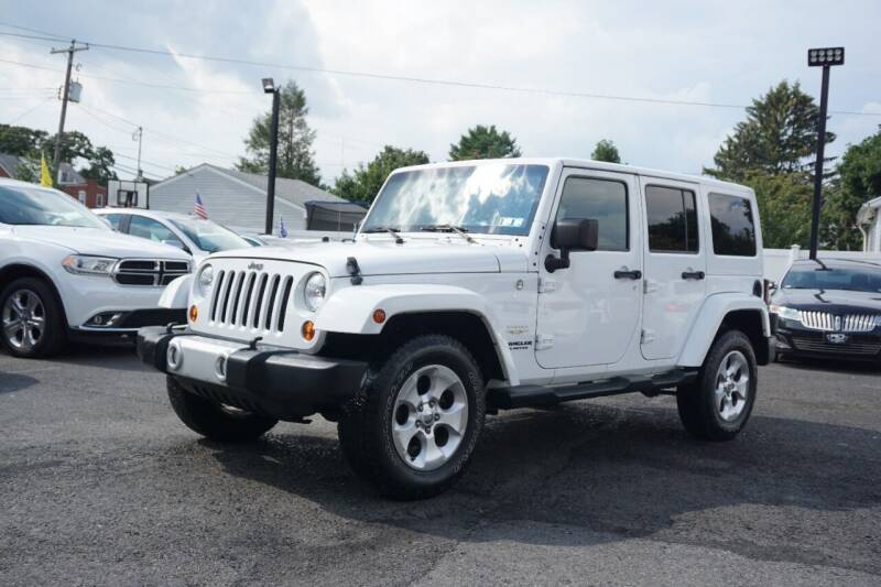 2013 Jeep Wrangler Unlimited for sale at HD Auto Sales Corp. in Reading PA