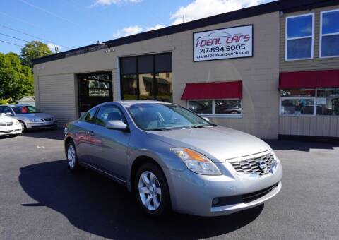 2008 Nissan Altima for sale at I-Deal Cars LLC in York PA